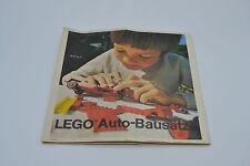 LEGO CATALOGO SPECIALE AUTO-Kit: 1973 per collezionisti | VINTAGE SPECIAL Catalog