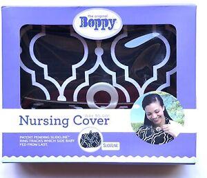 New Boppy Nursing Cover Seville Black & White