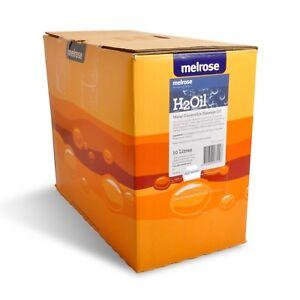 New Melrose H2Oil Water Dispersible Massage Oil 10L