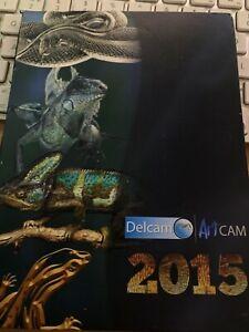 DELCAM ARTCAM 2015 SOFTWARE - DISCS ONLY MEDIA ONLY NO LICENCE/KEY ETC READ DESC