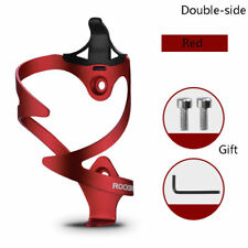 RockBros Cycing Water Bottle Holder Bike Bicycle Bottle Cage Double-Side Red