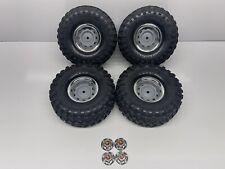 "Traxxas Trx-4 Blazer Pre-Mounted Canyon Trail 1.9"" Tires W/ Blazer Wheels #5450"