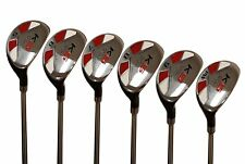 "Senior Ladies Majek Golf Hybrid Partial Set (5-PW) Lady ""L"" Flex Utility Clubs"