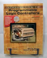 INTRODUCTION TO PROGRAMMABLE LOGIC CONTROLLERS TEXTBOOK w/ CD-ROM MAZUR WEINDORF