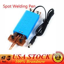 Handheld Portable Spot Welding Pen Automatic Trigger Spot Welder Machine Battery