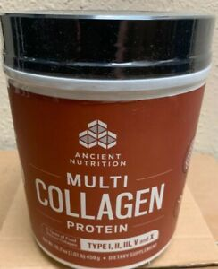 Dr. Axe Ancient Nutrition Multi Collagen Protein Powder 16.2 oz NEW 7/2021