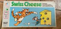 Vintage 1974 Swiss Cheese educational game Milton Bradley #4471