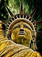Fotografia Composizione Statua Liberty Luce Effetto Poster Art Print bb12646a
