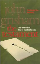 The Testament by John Grisham, Book, New Paperback