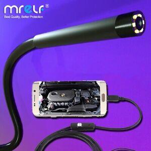 7mm 5.5mm Endoscope Camera Flexible Waterproof  USB industrial Endoscope Camera