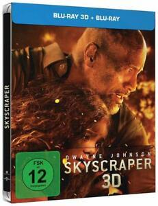 Skyscraper [Blu-ray Limited Steelbook Edi./NEU/OVP] Dwayne Johnson, Neve Campbel