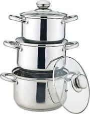 Royal Cuisine Stainless Steel Stock Pot Set 3 PCRoyal Cuisine Stainless Steel St