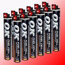 12x Gaskartusche (Fuel Cell) Gas (Montana Paslode Hitachi Powers MAX BeA Makita)