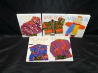 Lot 5 Vogue Knitting on the Go Books Toddler Baby Teen Knits Gifts Sweaters Toys