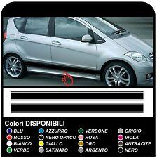 adesivi laterali per MERCEDES BENZ CLASSE A w169 decorazione auto fasce laterali