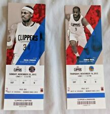 2015-16 Los Angeles Clippers NBA Game Ticket Stub Pick one Choose one