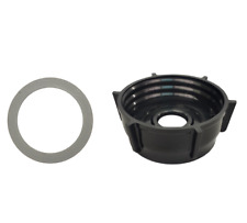 Bottom Jar Base Cap & Gasket Seal Ring Replacement Part,Fits Oster Blender, 4902