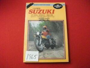 VINTAGE 1964-81 SUZUKI SINGLES 125-400 SERVICE-REPAIR-PERFORMANCE MANUAL CLYMER