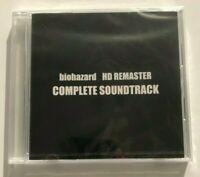 New JAPAN Resident Evil Biohazard HD REMASTER COMPLETE SOUNDTRACK CD COPCOM