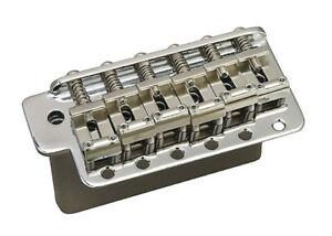 Gotoh GE101TS Stratocaster Strat Guitar Tremolo Bridge • Steel Block • Chrome