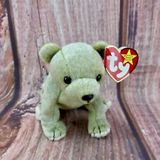 Ty Beanie Babies Teddy Plush Almond bear Vintage 1999 Tagged collectable gift