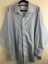 Brooks Brothers Regular Fit Mens Business Formal Dress Shirt Size 33 Long Sleeve