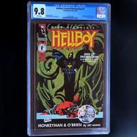 HELLBOY: SEED OF DESTRUCTION #3 💥 CGC 9.8 WHITE PGs 💥 RARE! Dark Horse 1994