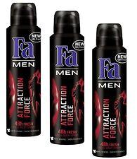 Fa Deodorant 450 Ml Men Attraction Force