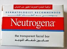 Neutrogena Transparent Facial Bar- Acne-Prone Skin Formula Soap 3.5oz