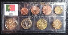 PORTOGALLO 2004 - Serie annuale 8 monete euro FDC/UNC in blister