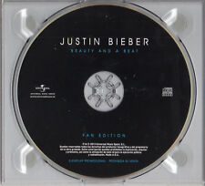 "JUSTIN BIEBER ""BEATY AND A BEAT"" SPANISH PROMO DIGI CD FAN EDITION / NICKI MINAJ"
