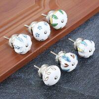 Round Ceramic Kitchen Cabinet Cupboard Drawer Dresser Door Pull Handle Knob 40mm