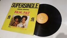 "Italo-Disco - Pam N' Pat - To Be Superman - It's All Music / VG+ / VG 12"" VINILO"