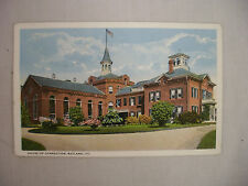VINTAGE POSTCARD THE HOUSE OF CORRECTION IN RUTLAND VERMONT 1921