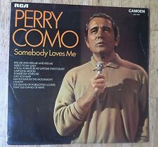 PERRY COMO Somebody Loves Me LP/U.K.