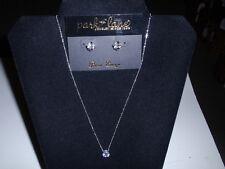 "Park Lane Jewelry, ""TIFFANI"" NECKLACE & ""SIGNATURE"" Earrings  CZ's NEW!!!"