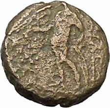 Antiochos III, the Great 223BC RARE Ancient Greek Coin Apollo Cult  i46045