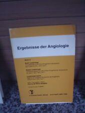 Ergebnisse der Angiologie, Band 12, F. K. Schattauer Ve
