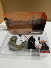 Star Wars Darth Maul W/Sith Speeder+Launching Probe Droid+Galactic Game- LOOSE