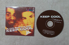 "CD AUDIO MUSIQUE / KEEP COOL ""JE VAIS SORTIR CE SOIR"" CDS 2TK 2000 CARD SLEEVE"