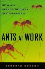 Ants At Work: How An Insect Society Is Organized, Gordon, Deborah, Good Conditio