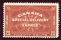Canada 1930 Special Delivery 20c brown-red superb MNH. SG S6. Sc E4.