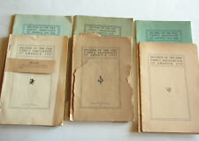Genealogy Records of the Pike Family Association 1902, 1904, 1908, 1910 & 3 more