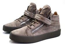 GIUSEPPE ZANOTTI Bangle suede mid-top sneakers - Sneaker aus Wildleder - Size 43