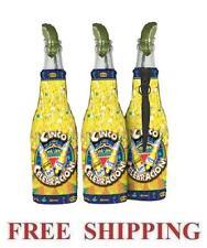 Corona Extra Light Cinco De Mayo 3 Beer Bottle Koozie Coolie Coolers Huggie New