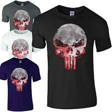 Daredevil Punisher Skull T-shirt The Defenders Shirt Unisex Casual T-Shirts