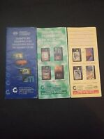 GREECE 3 CATALOQUES FROM 01/2001-12/2001 GRIECHENLAND GRECIA GRECE GRIEKENLAND !