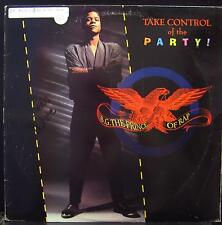 """B.G. The Prince Of Rap - Take Control Of The Party 12"""" VG+ 49 74056 Vinyl 1991"""