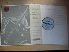 Brahms Double Concerto Oistrakh Fournier Galliera UK SAX 2264