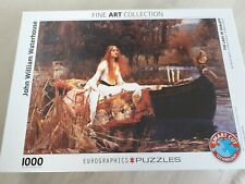 "Eurographics Puzzle ""The Lady of Shalott"" - 1000 Teile (Fine Art Collection)"